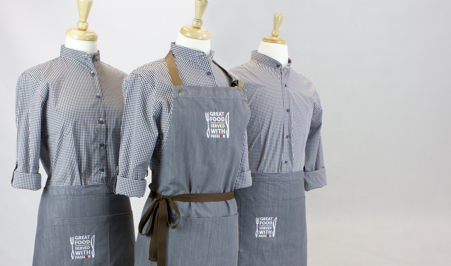 4a4a08b2fb4 Contract Caterers Staff Uniforms - Kylemark Workwear