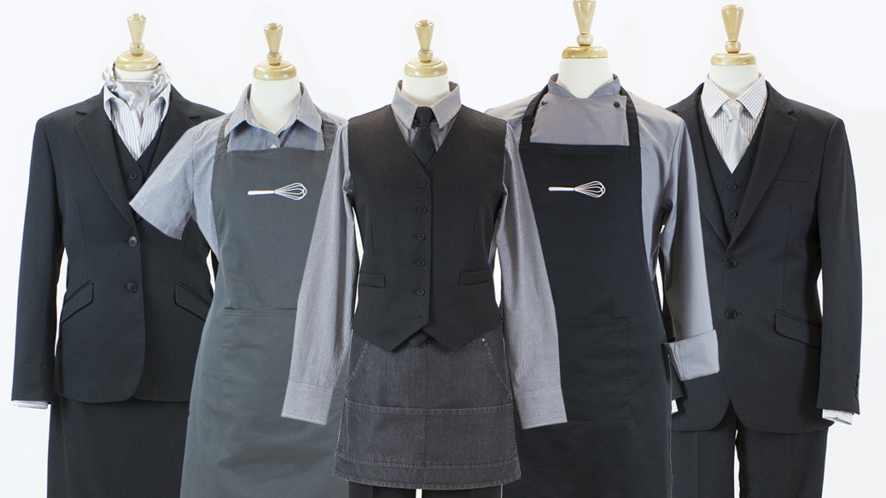 1b48c522f24 Contract Caterer Staff Uniforms – From concept to delivery Kylemark has it  covered.
