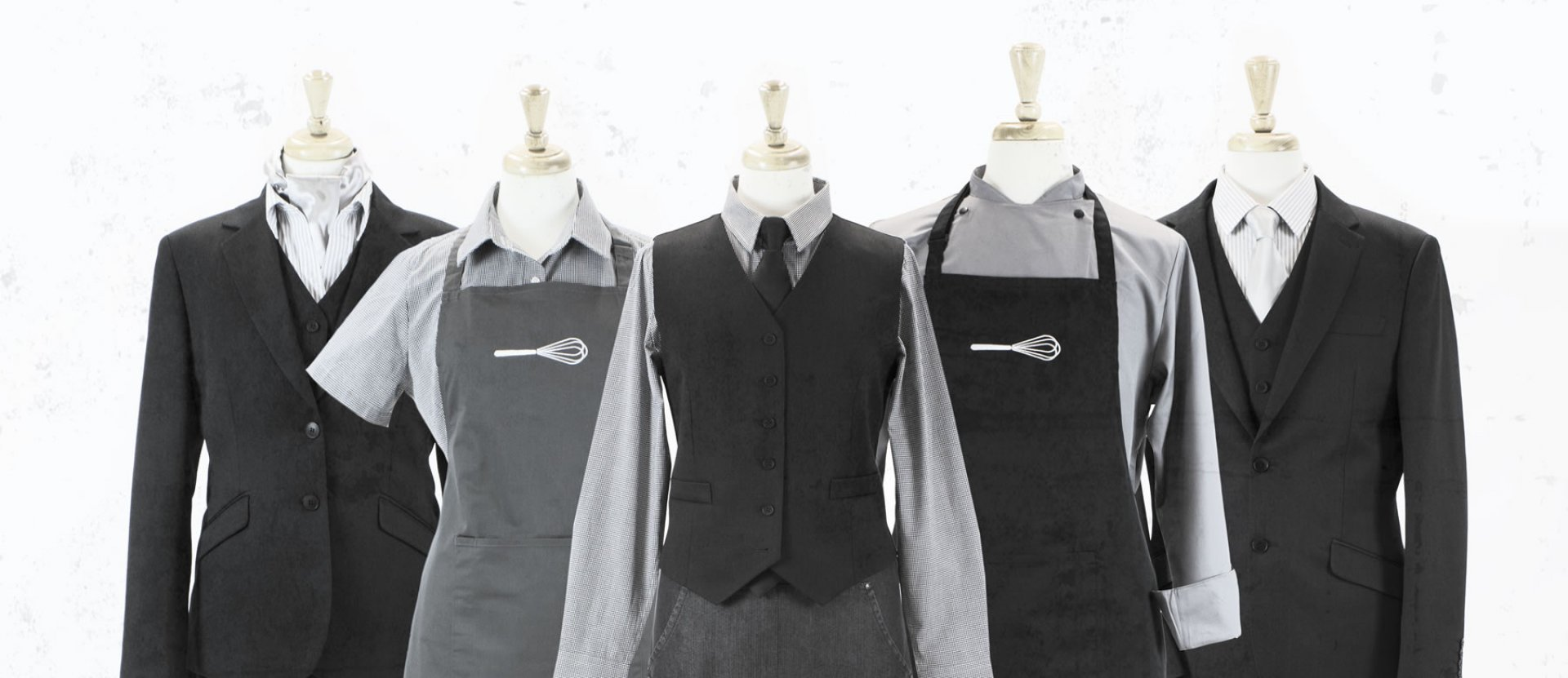 Contract Catering - Aprons, Shirts, Blouses, Jackets, Waistcoats Uniforms Banner