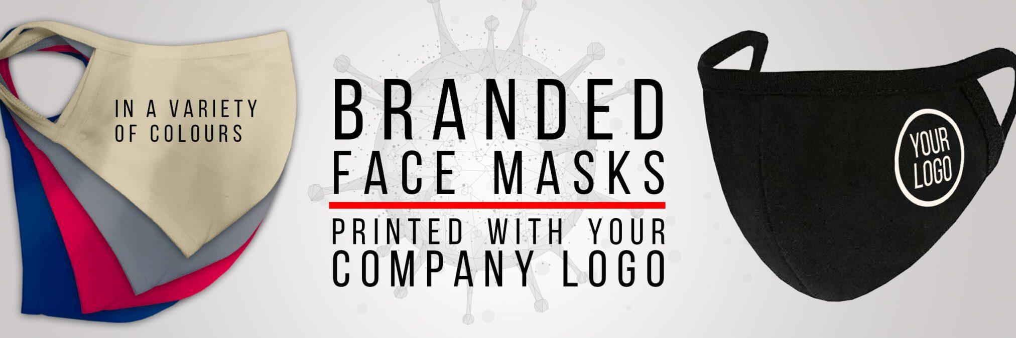 COVID 19 - Branded Face Masks