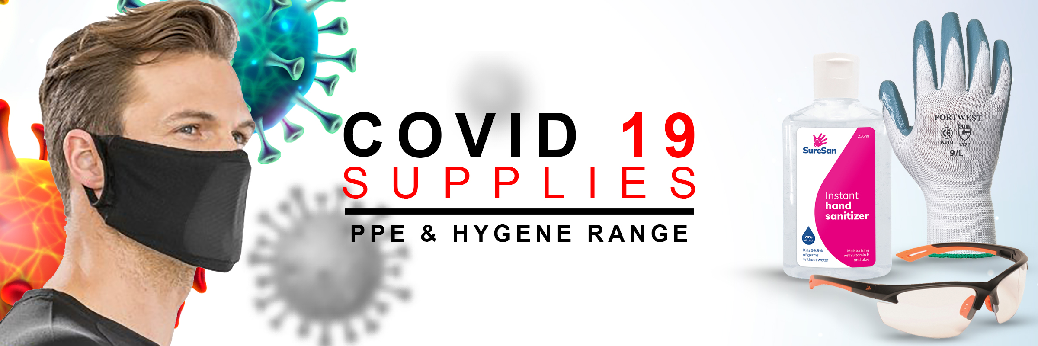 COVID 19 - Face Masks & PPE